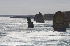 Ansicht der 12 Apostel an der großen Ozean-Straße, Melbo Lizenzfreies Stockfoto