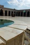 Ansicht der Al-Hakim Moschee stockfoto