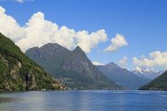 Ansicht der Alpen switzerland stockfoto