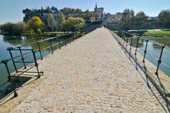 Ansicht der alten Stadt von Avignon Lizenzfreie Stockfotografie