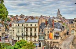 Ansicht der alten Stadt von Blois - Frankreich Stockfoto