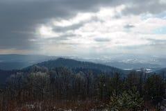 Ansicht der Berge lizenzfreies stockfoto