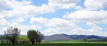 Ansicht der Berge von der Türkei Lizenzfreie Stockbilder