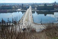 Ansicht der Brücke Lizenzfreie Stockfotos