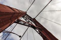 Ansicht der Brücke am 25. April lizenzfreie stockfotos
