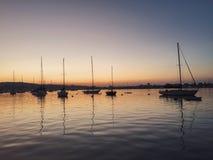 Ansicht der Bucht Stockfotos