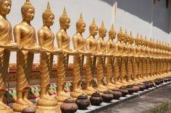 Ansicht der Buddha-Statue in Thailand Lizenzfreie Stockfotos