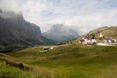 Ansicht der Dolomit Lizenzfreie Stockfotografie