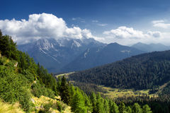 Ansicht der Dolomit Stockbilder