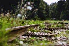 Ansicht der Eisenbahnlinie Lizenzfreie Stockfotografie