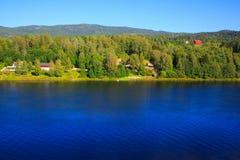 Ansicht der Fjorde Lizenzfreie Stockbilder
