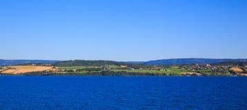 Ansicht der Fjorde Lizenzfreie Stockfotos