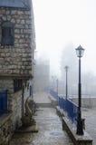 Ansicht der Gasse in altem Safed stockfotografie