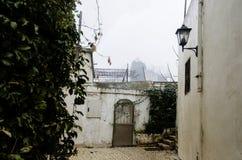 Ansicht der Gasse in Safed lizenzfreie stockfotografie