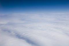 Ansicht der großen Höhe der Wolken. Himmel? lizenzfreie stockfotografie