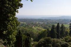 Ansicht der Hügel Lizenzfreie Stockfotos