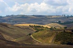 Ansicht der Hügel von Gargano Puglia Lizenzfreie Stockfotografie