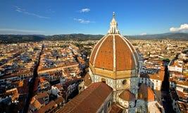 Ansicht der Haube von Brunelleschi Lizenzfreie Stockfotografie