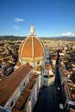 Ansicht der Haube von Brunelleschi Lizenzfreies Stockfoto