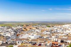 Ansicht der herzoglichen Stadt von Osuna Erklärte einen Historisch-künstlerischen Standort Provinz von Sevilla Ich machte dieses  stockfoto