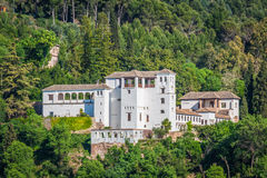 Ansicht der historischen Stadt von Granada Andalusien Spanien Stockfoto