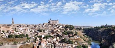 Ansicht der historischen Stadt von Toledo Stockfotos