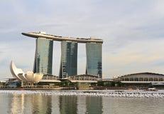 Jachthafen-Bucht versandet Singapur Stockbilder