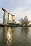 Jachthafen-Bucht versandet Singapur Lizenzfreie Stockfotografie