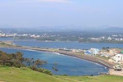 Ansicht der Jeju-Stadt Lizenzfreie Stockbilder