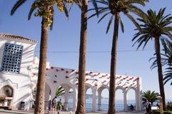 Balcon de Europa in Nerja Spanien Stockbilder