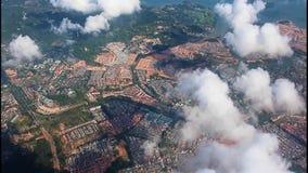 Ansicht an der Küste von Singapur stock video footage