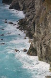 Ansicht der Küstenlinie Lizenzfreies Stockbild