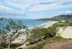Ansicht der Küstenlinie bei Dana Point in Kalifornien Lizenzfreie Stockfotografie