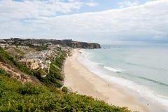 Ansicht der Küstenlinie bei Dana Point in Kalifornien Lizenzfreies Stockfoto