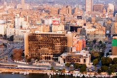 Ansicht der Kairo-Stadt, Ägypten Stockfotografie