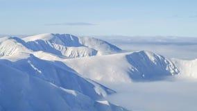 Ansicht der Kante des Berges in niedrigem Tatras in Slowakei Stockbilder