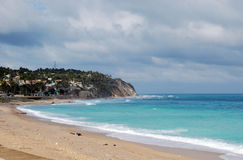 Ansicht der karibischen Küste Lizenzfreie Stockfotografie