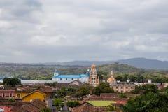 Ansicht der Kathedrale von Granada, Nicaragua Lizenzfreies Stockbild