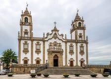 Ansicht an der Kirche von Misericordia in Viseu - Portugal Lizenzfreie Stockbilder