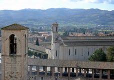 Ansicht der Kirche von San Francesco Stockbild
