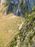 Ansicht der Klippe, Gibraltar Stockbilder
