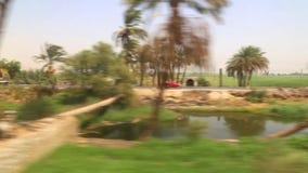 Ansicht der Landseite von Zug HD Video stock video