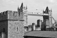 Ansicht der London-Turmbrücke Stockfoto