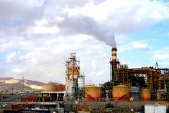 Ansicht der Meer-Industrie Lizenzfreies Stockbild