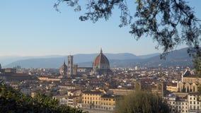 Ansicht der Mitte von Florenz stock footage
