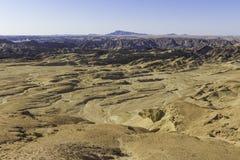 Ansicht der Mond-Landschaft, Namibia Stockbilder