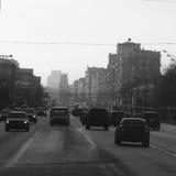 Ansicht an der Moskau-Landesuniversität lizenzfreies stockfoto