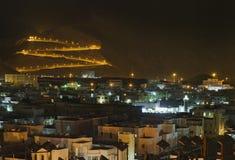 Ansicht der Muskatellertraube, Sultanat von Oman. Stockfotografie
