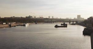 Ansicht der Novo-Andreyevskybrücke stock video footage