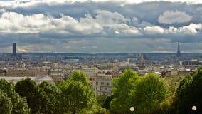 Paris im Früjahr stockbilder
